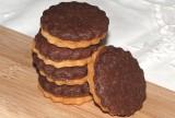 Biscotti bicolore con nutella