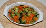 Carote e zucchine in padella