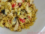 Cous cous con pollo e curry