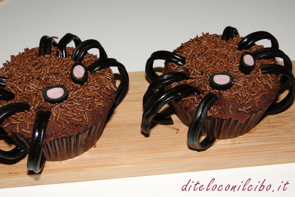 Ragnetti cupcakes